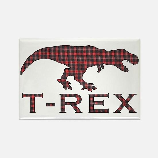 T Rex Rectangle Magnet