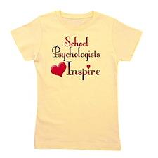 Teachers Inspire Psychologist  Girl's Tee