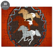 Horse and Shield_pillow Puzzle