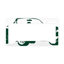 2-NB green License Plate Holder