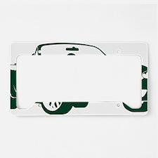 2-NB green License Plate Holder