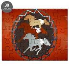 Horse and Shield-Yardsign Puzzle