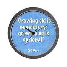 growing-up-mouse Wall Clock