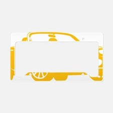 2-NC yellow License Plate Holder