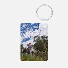 New Mexico Office 989 Aluminum Photo Keychain