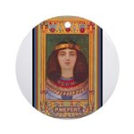 Princess Nefert.jpg Ornament (Round)