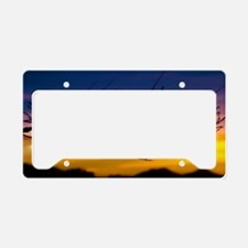 Sunset Branch-1a 007a License Plate Holder