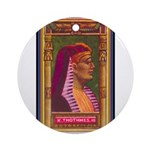 King Thothmes III.jpg Ornament (Round)