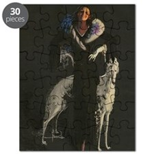 Deco Lady And Dog_edited-2 Puzzle
