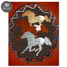 Horse and Shield PosterP Puzzle