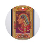 King Seti I.jpg Ornament (Round)
