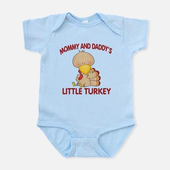 Mommy Daddys Turkey Body Suit
