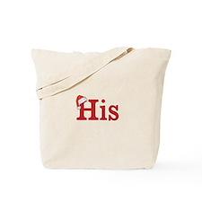 Christmas His - half of his and hers set Tote Bag