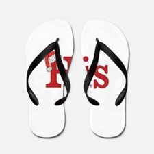 Christmas His - half of his and hers set Flip Flop