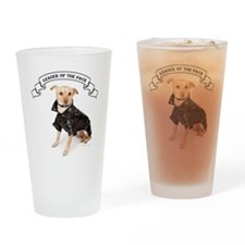 RDChihuahuaLeader Drinking Glass