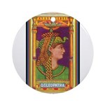 Queen Cleopatra.jpg Ornament (Round)
