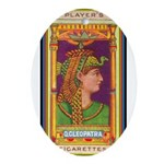 Queen Cleopatra.jpg Ornament (Oval)