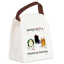 PomShirt Canvas Lunch Bag