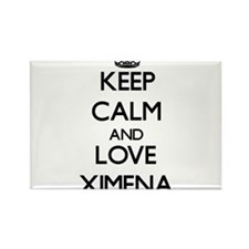 Keep Calm and Love Ximena Magnets