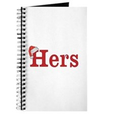 Christmas Hers - half of his and hers set Journal