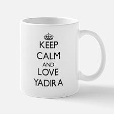 Keep Calm and Love Yadira Mugs