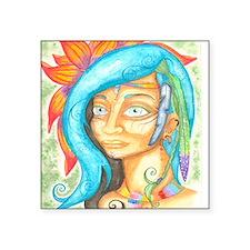 """icaros woman.pdf - Adobe Re Square Sticker 3"""" x 3"""""""
