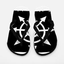 NA trad&revol chaos BLACKSHIRT Flip Flops