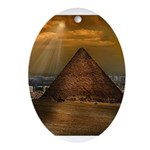 Giza Ornament (Oval)