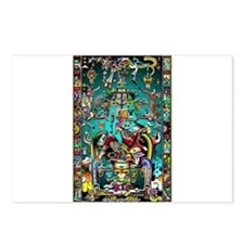Lord Pacal the Rocket Man Postcards (Package of 8)