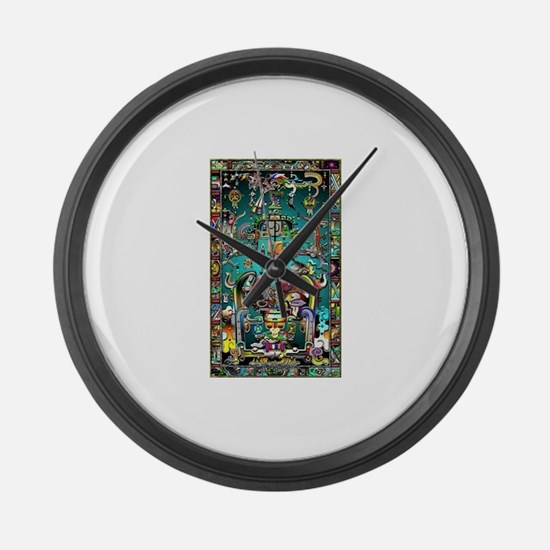 Lord Pacal the Rocket Man Large Wall Clock