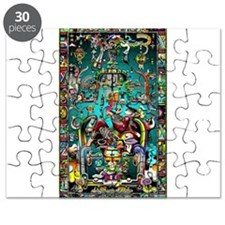 Lord Pacal the Rocket Man Puzzle