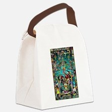 Lord Pacal the Rocket Man Canvas Lunch Bag
