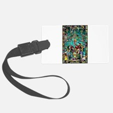 Lord Pacal the Rocket Man Luggage Tag