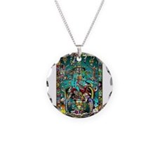 Lord Pacal the Rocket Man Necklace