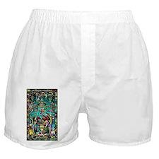 Lord Pacal the Rocket Man Boxer Shorts