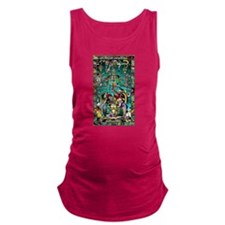Lord Pacal the Rocket Man Maternity Tank Top