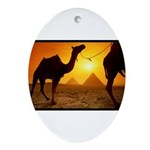 Egyptian Bedouin Camel Ornament (Oval)