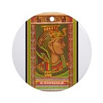 King Rameses III Ornament (Round)