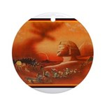Best Seller Sphinx Ornament (Round)