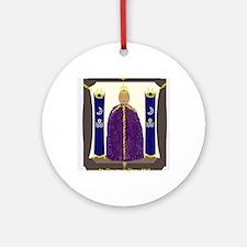 AsherahEnshrined Round Ornament