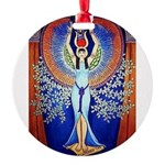 Egyptian Goddess Isis Ornament