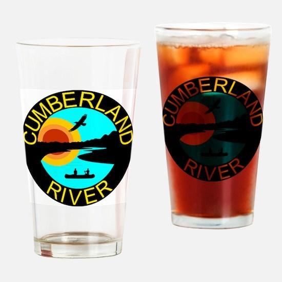 Cumb River Design Drinking Glass