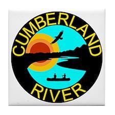 Cumb River Design Tile Coaster