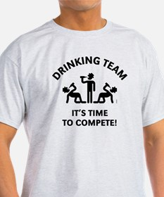 Drinking Team – It's Time To Compete T-Shirt