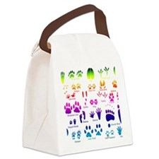 notecarerainbow Canvas Lunch Bag