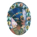 Queen of Egypt Nefertiti Ornament (Oval)