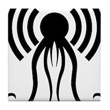 hp-podcast-black Tile Coaster