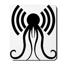 hp-podcast-black Mousepad