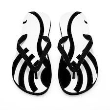 hp-podcast-black Flip Flops