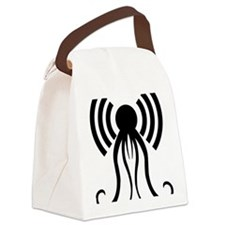 hp-podcast-black Canvas Lunch Bag